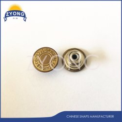 Customized Metal Jeans Button