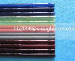 Baibo Colored Infrared Quartz Glass Tube Red/Gray Quartz Tube for Automotive Paint Lamp