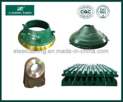 Chinese Manufacturer of Crusher Spare Parts, Jaw Crusher Parts, Cone Crusher Parts, Impact Crusher Parts, Crusher Wear Parts.