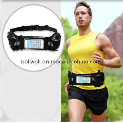 New Arrival Sport Hydration Running Belt Waist Pack with Water Bottle