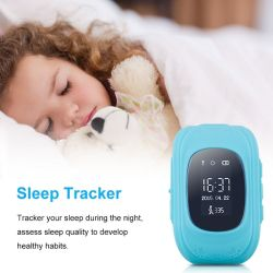 Children's WiFi Bluetooth Smart Watch Mobile Phone with GSM+GPRS Positioning