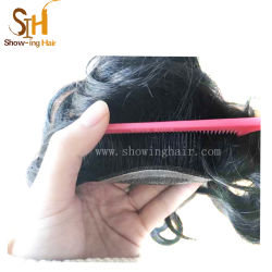 Wholesale Price Natural Looking Black Color Lace Top Hairpieces for Men