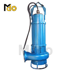 Powerful Heavy Duty Submersible Displacement Slurry Pump for Solids Transfer