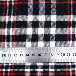 Casual Plaid Wool Fabric for Shirts