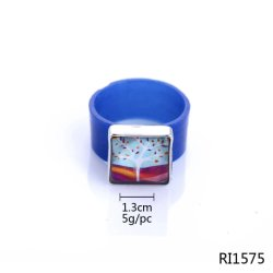 Hot Sale High Quanlity Colorful Mens Silicone Wedding Ring for Sports