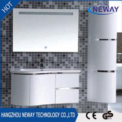 Modern PVC LED Mirror Design Bathroom Vanity Cabinet
