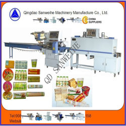SWC-590 Swd-2000 Heat Shrink Automatic Flow Wrapping Packing Machine