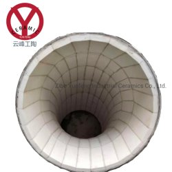 Coal Slurry Transport Ceramic Lined Steel Tube for Conveyor Liner