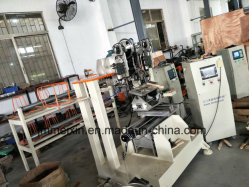 2 Axis 2 Drilling and 1 Head Tufting Roll of Steel Wire Brush Machine
