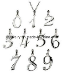 Custom silver pendants china custom silver pendants manufacturers custom sterling silver number pendants aloadofball Images