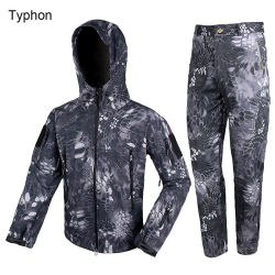 Waterproof Outdoor Sport Camouflage Hunting Tactical Bdu Clothes Set Cl34-0066
