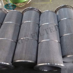 Filter Manufacturer Supply Stainless Steel Cylindrical Oil Filter Candle
