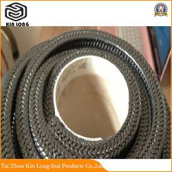 Slurry Pump PTFE Graphite Fiber High Pressure Gland Packings for Sealing; Good Mechanical Property Pumps Use Pure PTFE Gland Packing