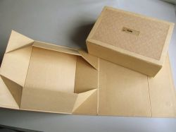 Shoes Folded Handmade Gift Paper Box, Paper Box