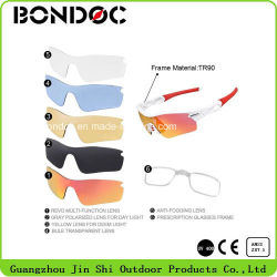 Tr90 Frame Outdoor Sport Sunglasses Safety Glasses