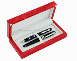 Rosewood High Gloss Finish Wooden Storage Presentation Packing and Display Gift Pen Box/Case