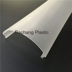 Milky Acrylic Extrusion Lamp Cover