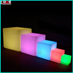 Rechargeable Cube Table and Chair for Party