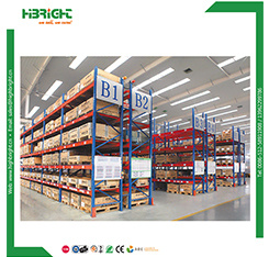 Warehouse Heavy Duty Steel Adjustable Pallet Shelving Double Deep Collapsible System Price Pallet Racking