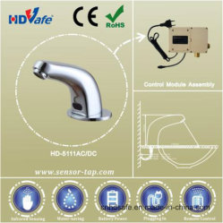 High Quality Modern Kitchen Designs Chrome Basin Electric Automatic Tap