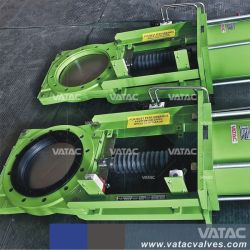 Cast & Ductile Iron Slurry Knife Gate Valve with Lever Operated