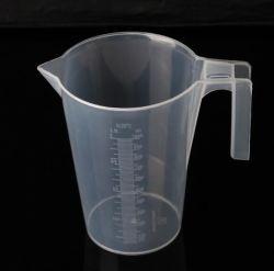 4 x Clear Plastic Disposable 1.8L Jug Pitcher 1800ml Easy Pour Cheap!