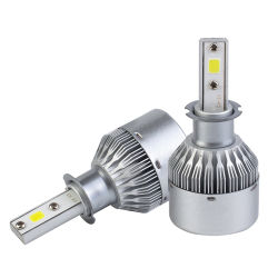 Factory Direct Wholesale Vehicle Spare Parts Car Accessories C6 H4 H7 H11 9005 Headlight Motorcycle Bulb Upgrade Tuning Replacement 4300K 6000K LED Car Light