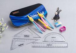 Alibaba China Suppier I-Teen High Quality School Supplies Tin Box Oxford Math Set