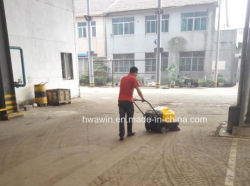 Electric Hand Push Floor Cleaning Sweeper