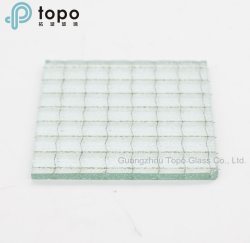 Tinted Figured Glass / Clear Karatachi Patterned Glass for Doors, Windows (CP-TP)