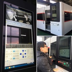 2000W 3000W 4000W 6000W CNC Fiber Laser Cutting Machine for Cutting Metal, Stainless Steel Laser Cutter Price for Sale