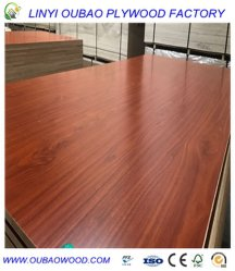 18mm Laminated Melamine/PVC/HPL Plywood, Melamine Board
