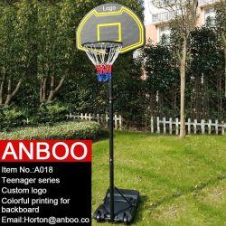 OEM Children Basketball Stand/Hoop with Colorful Backboard/Custom Logo