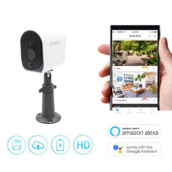 Working with Alexa 960p/1080P Wire-Free WiFi Wireless Battery Video Surveillance CCTV IP Security Camera