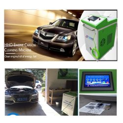 New Car Care Hho Oxyhydrogen for Car Engine Carbon Cleaning Machine