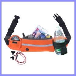 Water Repellent Running Sport Key Bill Cellphone Waist Bag with Headphone Jack