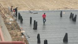 India Sbs/APP Bitumen Waterproof Sheet/Waterproof Material for Sport Hall/Garden Roof/Basement