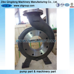 Stainless Steel/Carbon Steel Chemical ANSI Centrifugal Pump Part 4X3-82 in Titanium Material