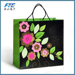Wholesale Promotional Tote Custom Printing Kraft Paper Bag