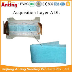 Colorful Non-Woven Adl Raw Material for Baby Diaper