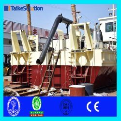 New Type Cutter Suction Dredger with Cummins Engine Cutterhead and Slurry Pump for Sale