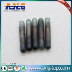 Syringe Biochemical Glass Animal Tag Fdx-B 134.2kHz RFID Tag