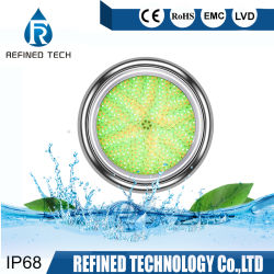 """WiFi Control RGB 1-1/2"""" LED Swimming Pool Light 1.5 Inch 18W 24W 35W Underwater Lights Wholesale with Ce RoHS"""
