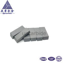 K10 92hra Fine Grain 28*5*13.5mm for Cutting Plastic Button Tungsten Carbide Alloy Tips