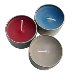 Round Shape Metal Candle Tin