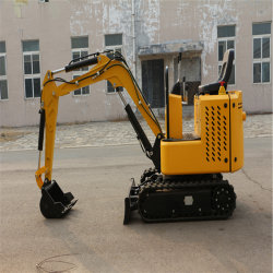 High Performance Small Backhoe Crawler Mini Excavator Digger Machine for Sale