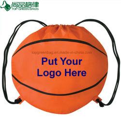 Football Basketball Sport Fitness Gym Drawstring Backpack Soccer Bag Pack