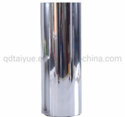 Plastic Film Coated Aluminum Roll Pet Printing Silver Metalized Aluminum Foil Thermal Lamination Film
