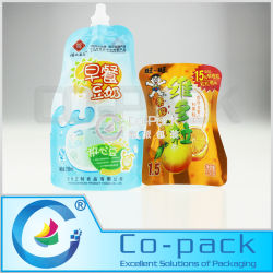 Stand up Milk/ Water Bag/ Drink/Jelly / Beer/ Outdoor/ Sports/ Liquid Spout Pouch