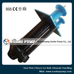 China Factory Rubber Lined Wear-Corrosion Vertical Centrifugal Slurry Pump